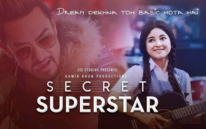 Secret Superstar,Amir Khan, Bollywood, entertainment, Indian cinema, hindi films, list of amir khan films, upcoming film of amir khan,thugs of Hindostan