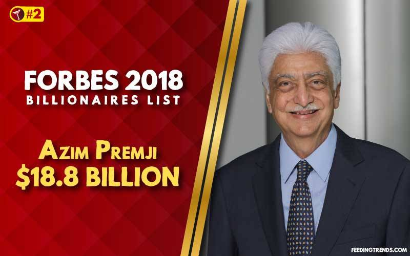 Azim Premji,business, India, richest people in India, richest Indians, richest man in India, wealthiest Indians, Forbes richest Indians, 100 richest Indians, billionaires in India, Indian billionaires, wealthiest people in India