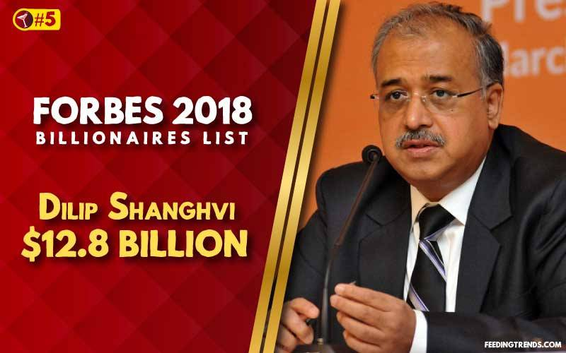 Dilip Shanghvi,business, India, richest people in India, richest Indians, richest man in India, wealthiest Indians, Forbes richest Indians, 100 richest Indians, billionaires in India, Indian billionaires, wealthiest people in India