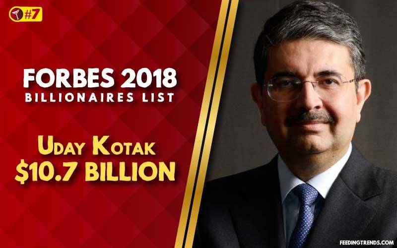Uday Kotak,business, India, richest people in India, richest Indians, richest man in India, wealthiest Indians, Forbes richest Indians, 100 richest Indians, billionaires in India, Indian billionaires, wealthiest people in India