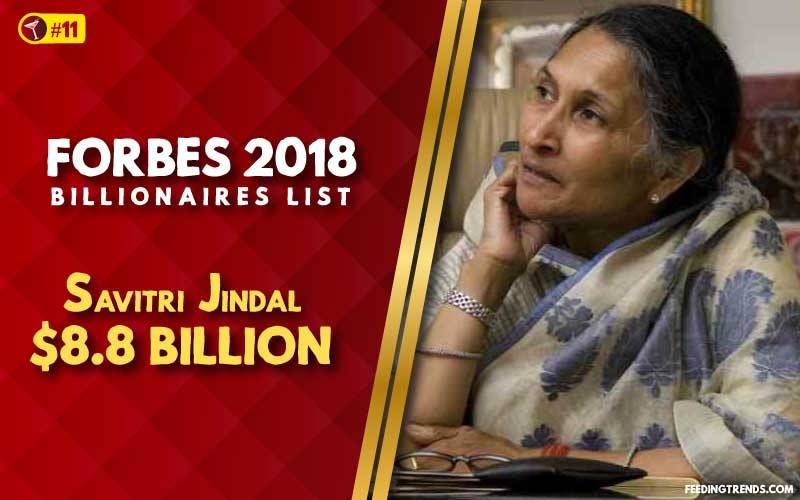 Savitri Jindal,business, India, richest people in India, richest Indians, richest man in India, wealthiest Indians, Forbes richest Indians, 100 richest Indians, billionaires in India, Indian billionaires, wealthiest people in India