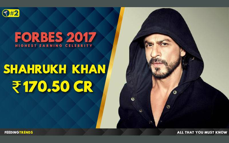 Shah Rukh Khan  ,Forbes, Forbes 2017, Forbes List 2017, India, Bollywood, Celebrities, Celebs, Entertainment, Bollywood entertainers, Income of Cricketers