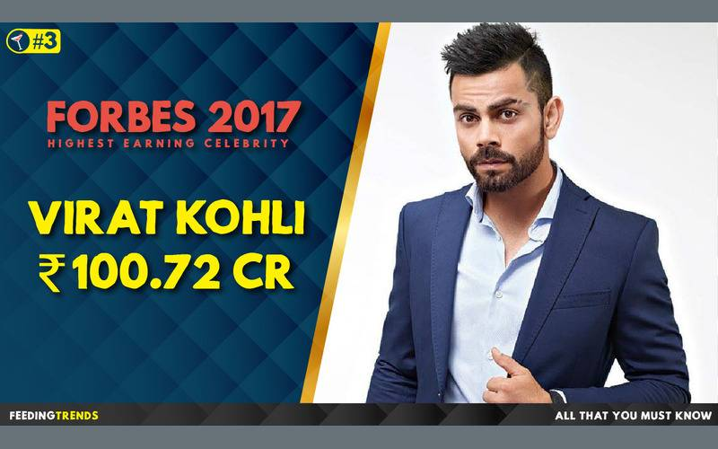 Virat Kohli  ,Forbes, Forbes 2017, Forbes List 2017, India, Bollywood, Celebrities, Celebs, Entertainment, Bollywood entertainers, Income of Cricketers
