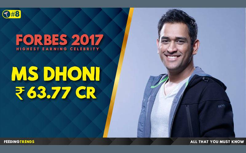 M S Dhoni   ,Forbes, Forbes 2017, Forbes List 2017, India, Bollywood, Celebrities, Celebs, Entertainment, Bollywood entertainers, Income of Cricketers
