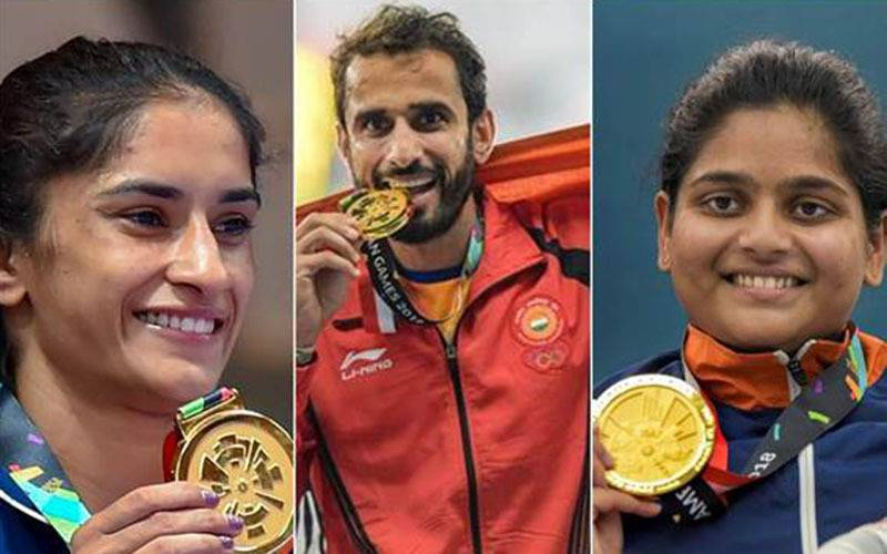 INDIAN WOMENS HOCKEY TEAM, VARUN THAKKAR GANAPATHY CHENGAPPA, SWETA SHERVEGAR VARSHA GAUTHAM, WOMEN'S SQUASH TEAM, INDIAN MEN'S HOCKEY TEAM, P V SINDHU, PRANAB BARDHAN-SHIBHNATH SARKA, AMIT PANGHAL, VIKAS KRISHAN, JINSON JOHNSON, CHITRA UNNIKRISHNAN, SAINA NEHWAL, SEEMA PUNIA, SHARATH KAMAL & MANIKA BATRA, MANJIT SINGH, ARPINDER SINGH,SWAPNA BARMAN, HIMA DAS, HEENA SIDHU, VINESH PHOGAT, 2018 Asian Games india, Asian Games 2018 india, india at 2018 asian games, india at asian games 2018, medals won by india asian games 2018, total asian games medals india, total medals asian games 2018 india, feeding trends, asian games results, india rank in asian games 2018, medal tally 2018 asian games, 2018 asian games medals tally, next asian games, asian games 2022, 2022 asian games, first asian games, 1951 asian games, trending now, sports, sports news, sports biz