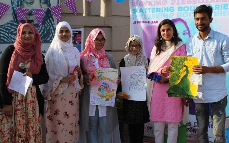 World Hijab Day 2019, WHD 2019. World Hijab Day Lucknow, Lucknow, Article on Feeding trends, Feeding Trends, Ft, World Hijab Day Feeding Trends, free in hijab, hijab headscarf,  Najma Khan world hijab day, world hijab day founder, world hijab day anam haseeb, world hijab day slogans, world hijab day website, world hijab day purpose, world hijab day aim, world hijab day founded, world hijab day date, world hijab day february