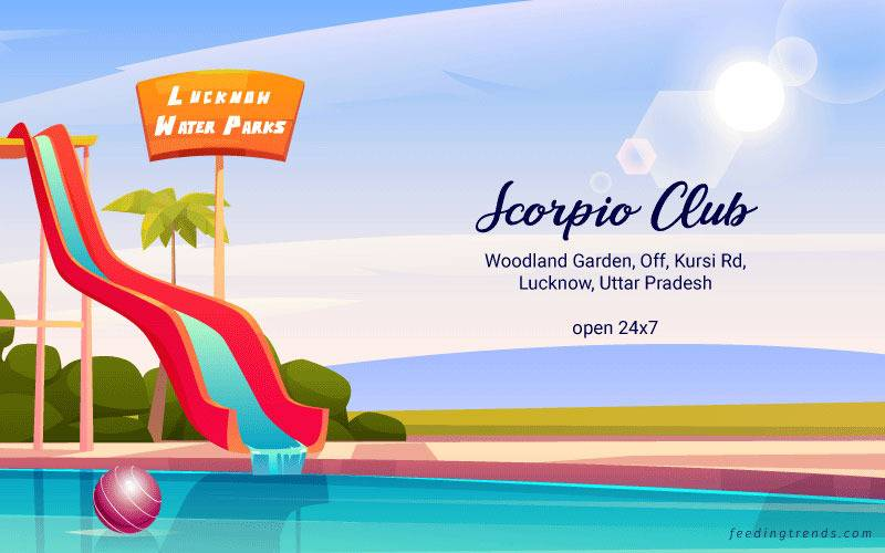 Anandi Water Park, Dream World Amusement Park, Disney Water Wonder Park, Amrapali Water Park, Four Seasons Fun City, Fun Village Water Park and Resort, Nilansh Theme Park, Scorpio Club, Diamond Aqua Theme Park